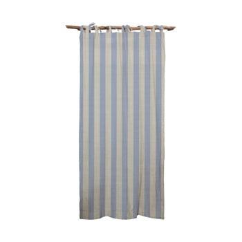 Draperie Linen Cuture Cortina Hogar Blue Stripes, albastru imagine
