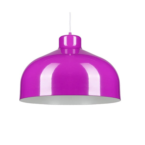 Fialové stropní světlo Loft You B&B, 33 cm