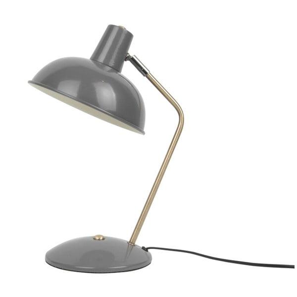 Šedá stolní lampa Leitmotiv Hood