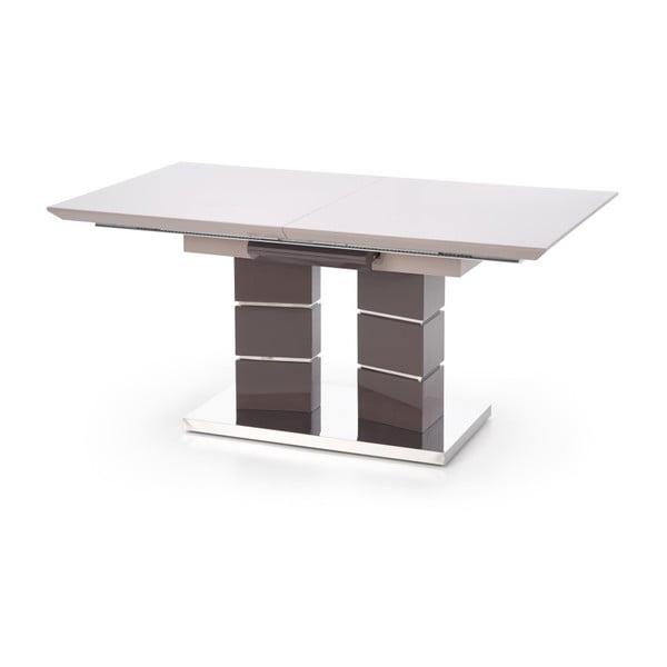 Šedý rozkládací jídelní stůl Halmar Lord, délka160-200cm