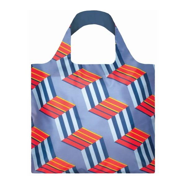 Skládací nákupní taška s kapsičkou LOQI Cubes