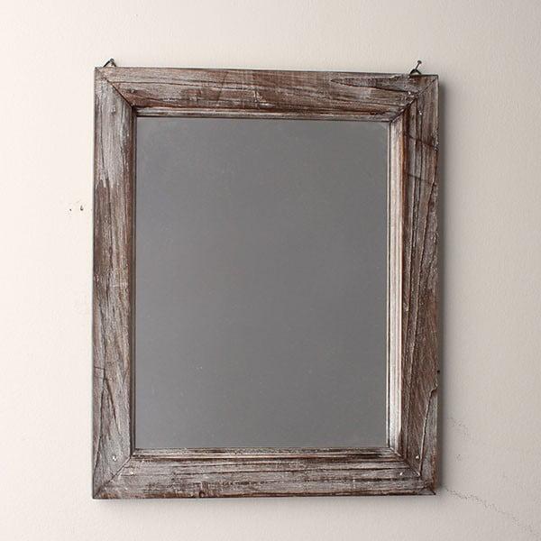 Zrcadlo Grey Days, 34x39 cm