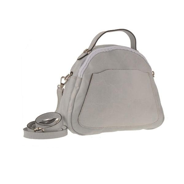 Kožená kabelka Men, šedá