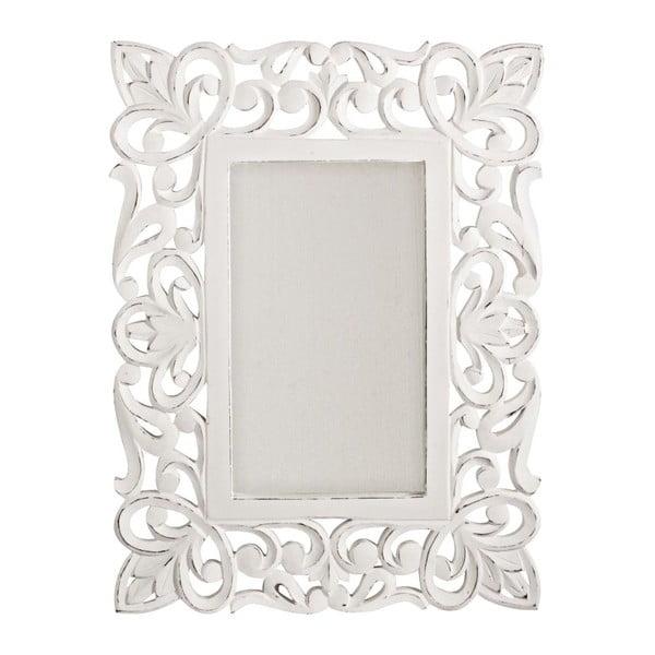 Nástěnné zrcadlo Bianco Antico, 45x60 cm