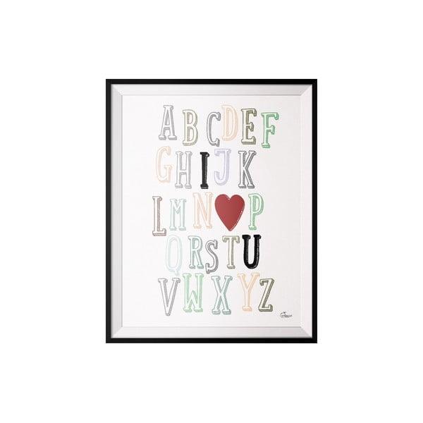 Plakát ABC, 40x50 cm