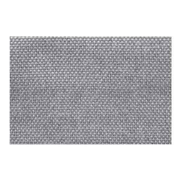 Světle šedá rohová rozkládací pohovka s úložným prostorem Interieur De Famille Paris Destin, pravý roh