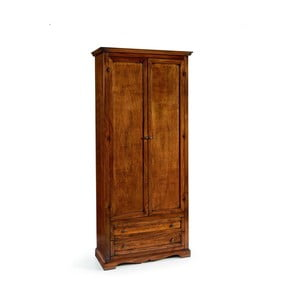 Șifonier din lemn cu 2 uși și sertare Castagnetti Classico