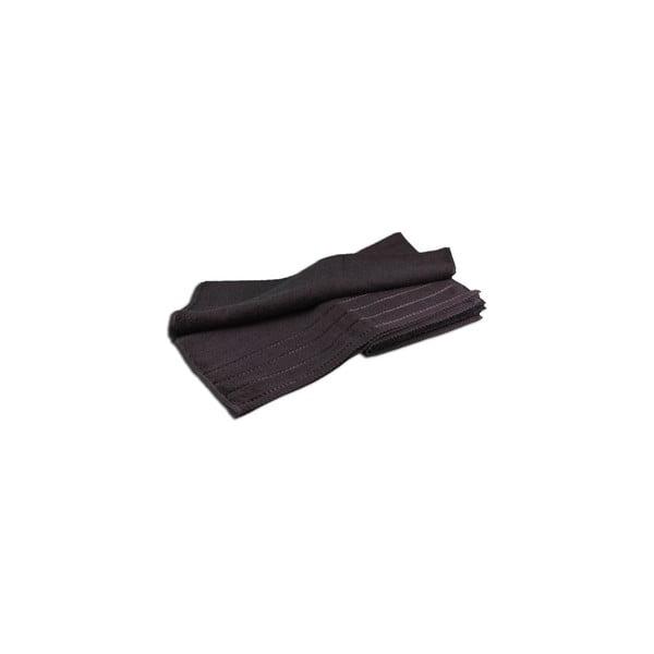 Osuška Berlin Black, 50x100 cm