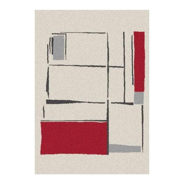 Bíločervený koberec Universal Nature,  160x230cm