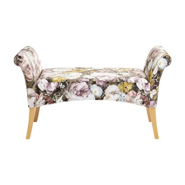 Květovaná lavice Kare Design Motley