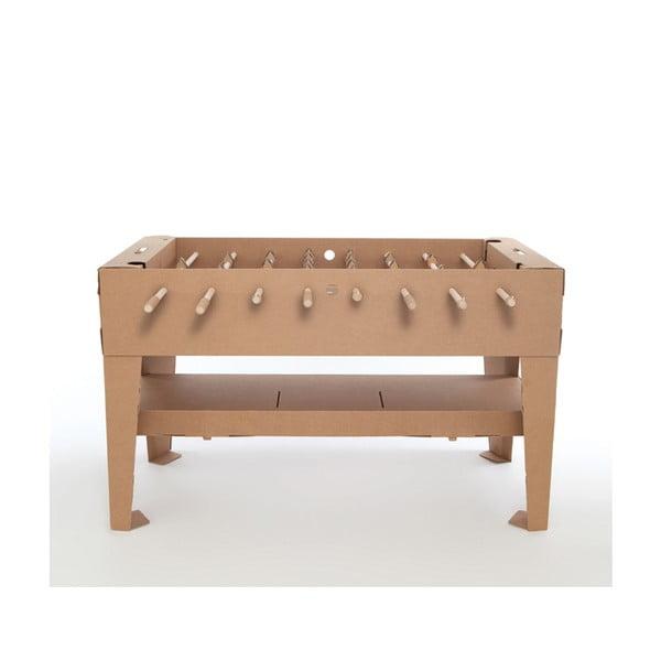 Kartonový stolní fotbálek Kartoni, přírodní