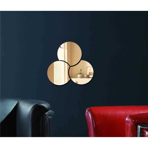 Dekorativní zrcadlo Three Circles