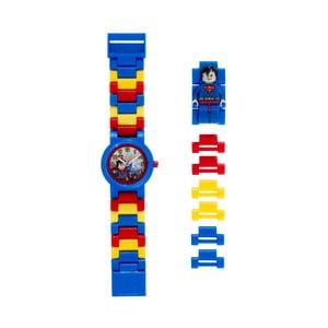 Hodinky s figurkou LEGO® DC Super Heroes Superman