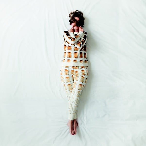 Bílé dámské kalhoty Snurk Toast, vel. M
