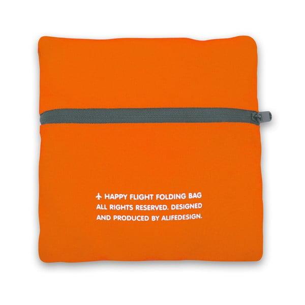 Cestovní skládací taška, Oranžová