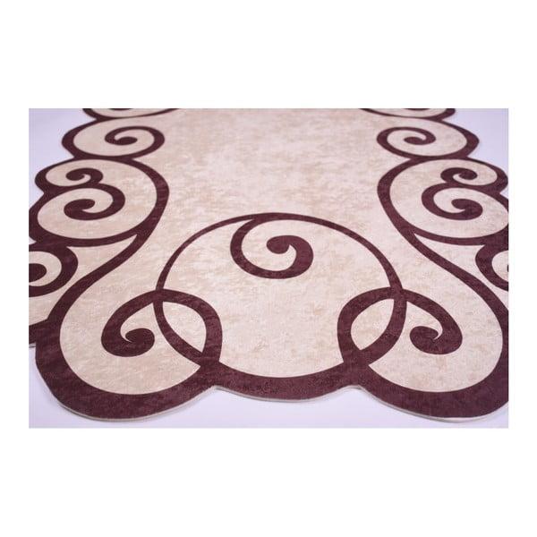 Odolný koberec Vitaus Gunna Kahve, 80 x 120 cm