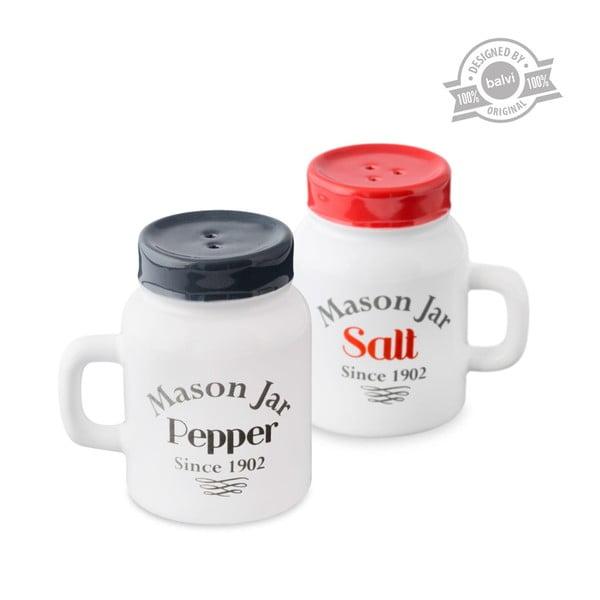 Set slánky a papřenky J-Me Mason Jar