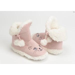 Papuče Pompom Cat Pink, vel. 37/38