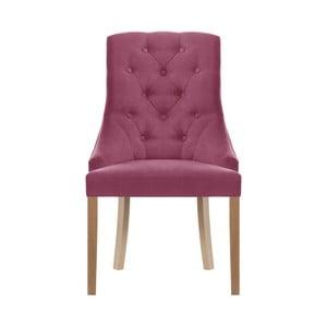 Růžová židle Jalouse Maison Chiara