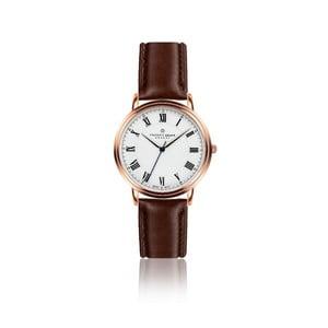 Pánské hodinky s hnědým páskem z pravé kůže Frederic Graff Weisshorn