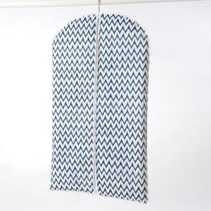 Textilní závěsný obal na šaty Compactor Zig Zag, 100 cm