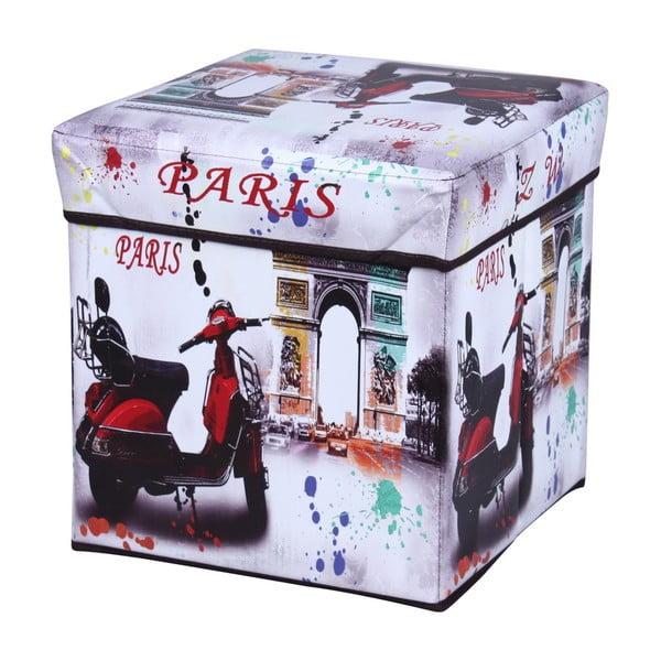 Taburetka s úložným prostorem Paris