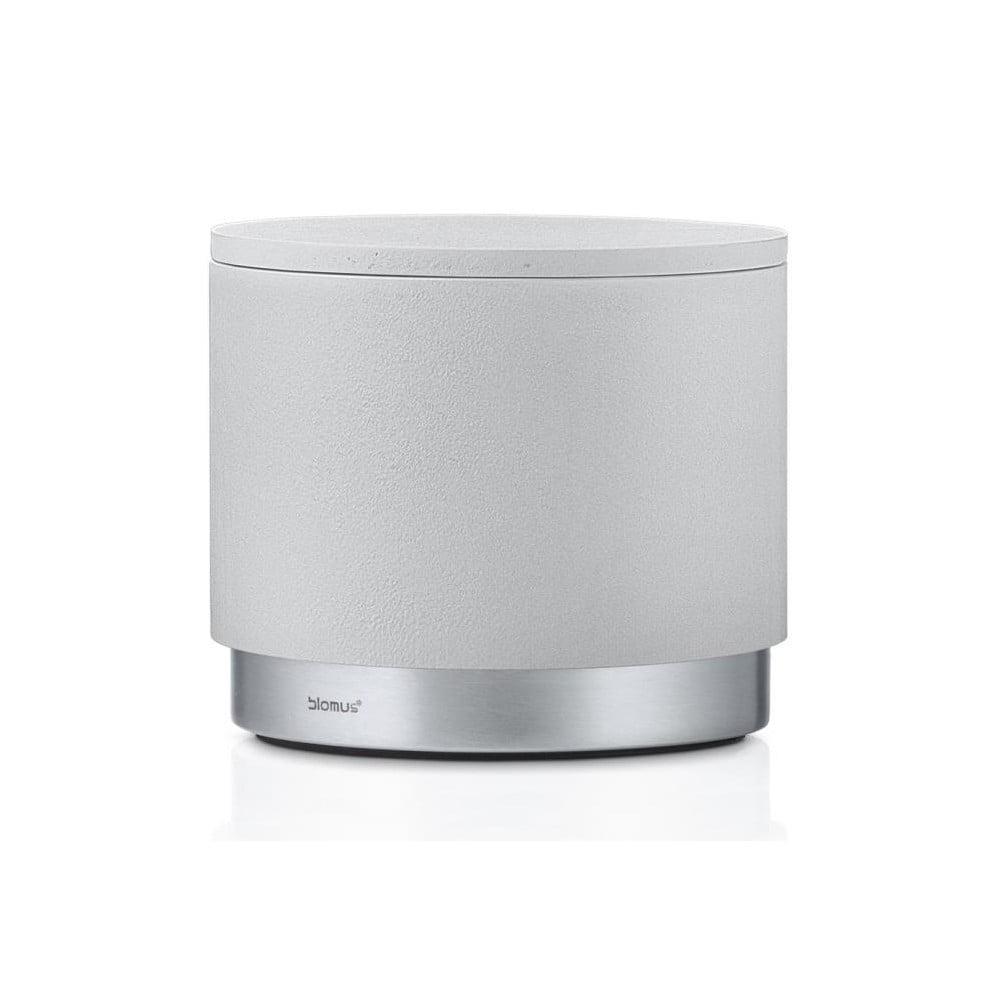 Světle šedý úložný box Blomus, objem400ml