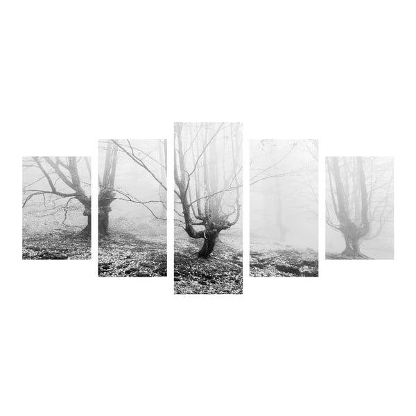 Vícedílný obraz Black&White Winter