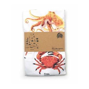 Zástěra z čisté bavlny Gift Republic Sea Life