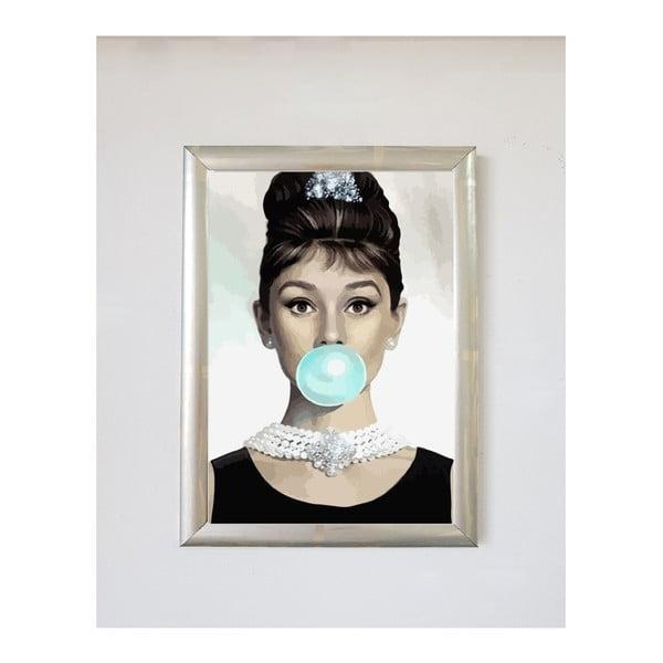 Poster cu ramă Piacenza Art Audrey Balon, 30 x 20 cm