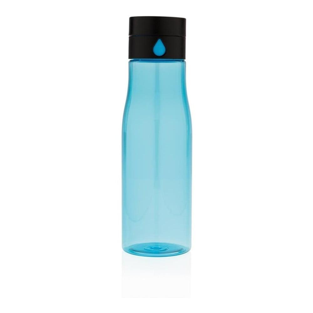 Modrá cestovní láhev XD Design Aqualicious, 600 ml