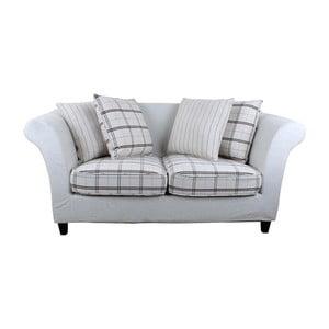 Sofa pro dva Beige Chequer