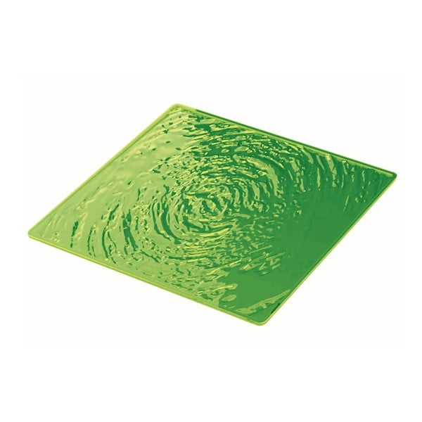 Zelený talíř Fratelli Guzzini Aqua