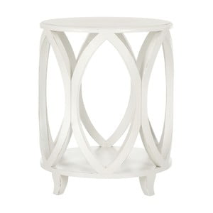 Odkládací stolek Safavieh Janika Cream