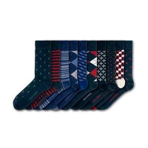 Sada 10 ponožek Black&Parker London Hampton Court, velikost 37 – 43