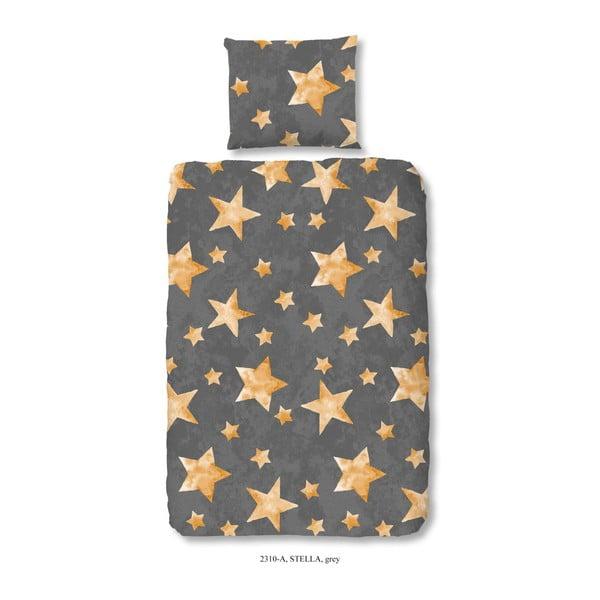 Pościel dziecięca jednoosobowa z bawełny Good Morning Stella, 140x200 cm