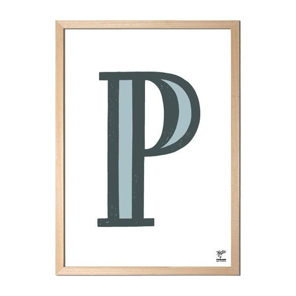 Plakát P od Karolíny Strykové