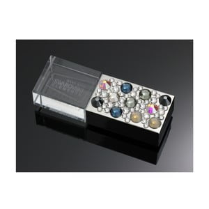 USB flash Swarovski Elements Mix, 8 GB