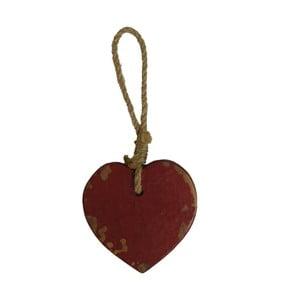 Závěsná dekorace ve tvaru srdce Antic Line Tom
