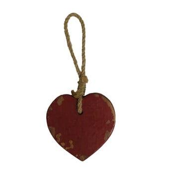 Decorațiune din lemn suspendată în formă de inimă Antic Line Coeur, maro de la Antic Line