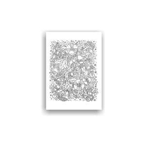 Obraz k vymalování Color It no. 75, 70x50 cm