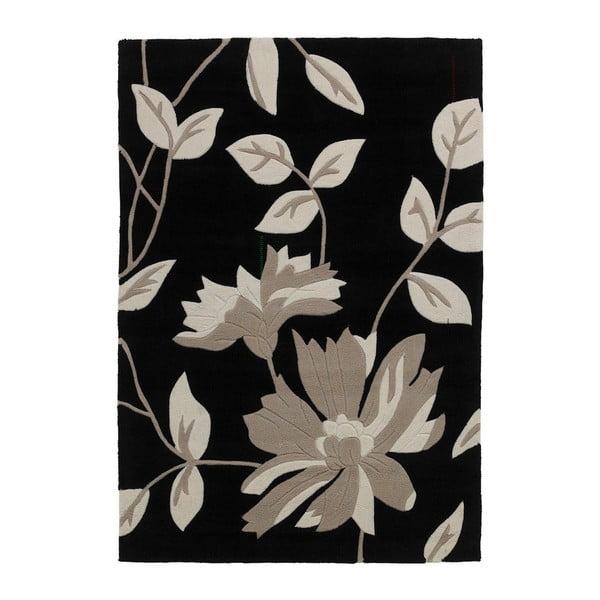 Koberec Hongkong Black, 120x170 cm