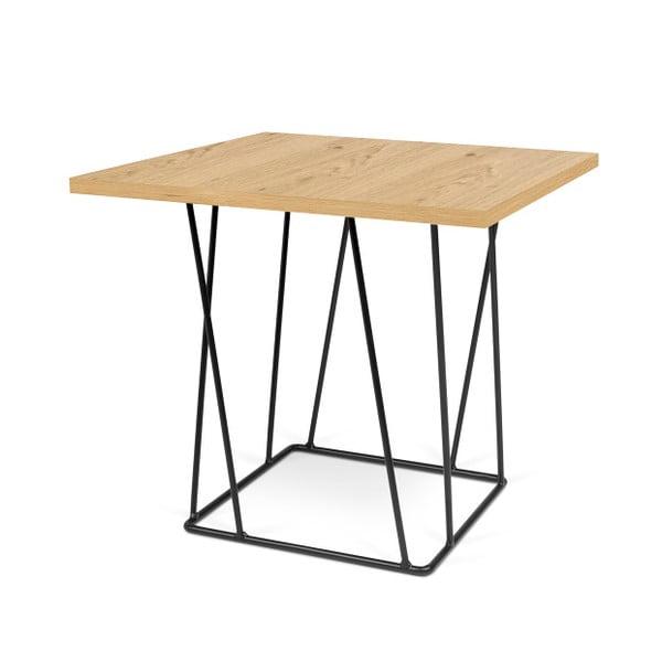Konferenční stolek s černými nohami TemaHome Helix, 50 cm
