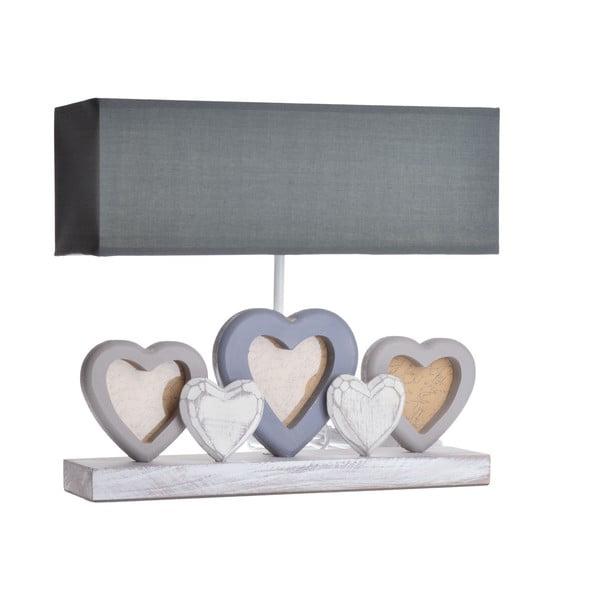 Stolní lampa s fotorámečky Heart