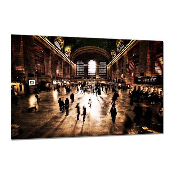 Tablou din sticlă Styler Grand Central, 120 x 80 cm
