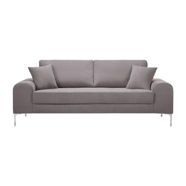 Set canapea maro cu 3 locuri, 4 scaune negre, o saltea 160 x 200 cm Home Essentials