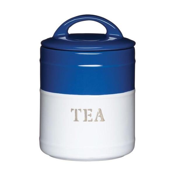 Modrobílá dóza Tea