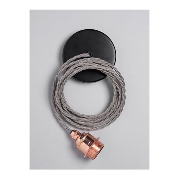 Závěsný kabel Copper Elephant Grey