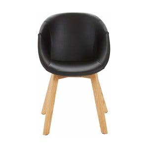 Sada 2 černých židlí Støraa Baxter