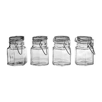 Set 4 recipiente sticlă condimente Premier Housewares imagine